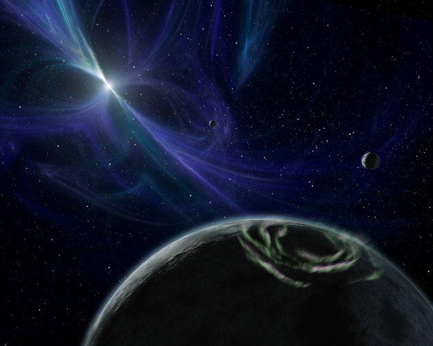Poszukiwanie planet krążących wokół pulsarów