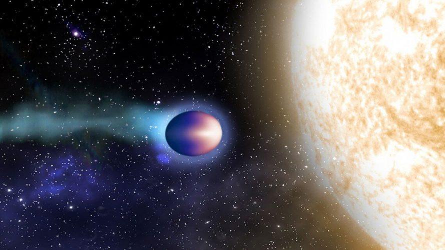 """Dane dotyczące """"gorących Jowiszów"""" wykorzystane do badania chemii egzoplanet"""