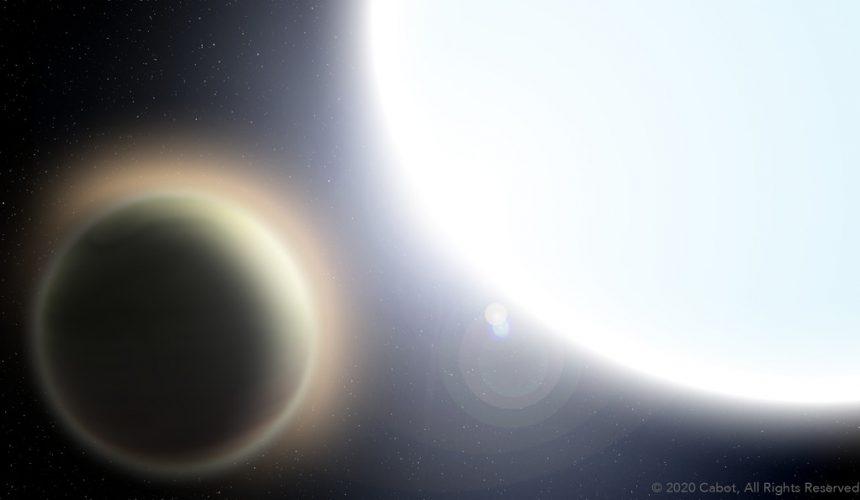 Spektrometr EXPRES w atmosferę odległej, gorącej planety