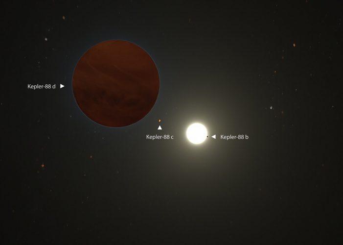 Odkryto jeszcze masywniejszą planetę w układzie Kepler-88