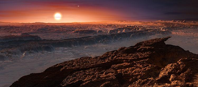 ESPRESSO potwierdza obecność Ziemi wokół najbliższej Słońcu gwiazdy