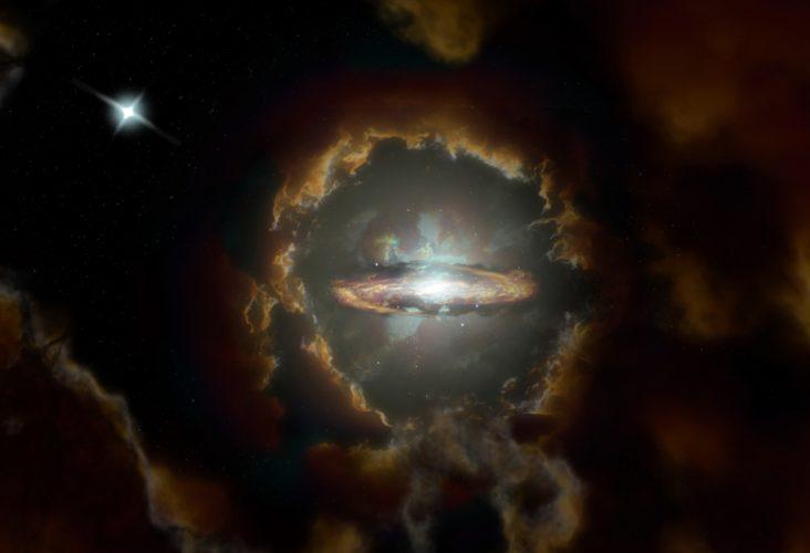 ALMA odkrywa masywną rotującą galaktykę dyskową we wczesnym Wszechświecie