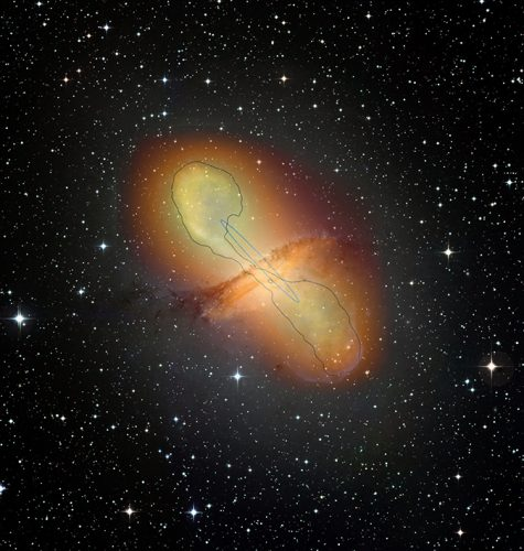 Dżety z kwazarów są akceleratorami cząstek o długości tysięcy lat świetlnych