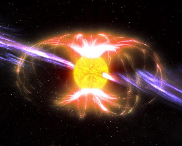Tajemnicza wirująca gwiazda neutronowa wykryta w Drodze Mlecznej okazuje się niezwykłym odkryciem