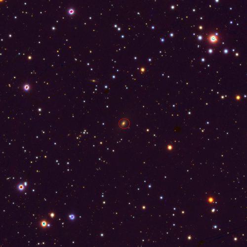 """Misje NASA badają aktywną galaktykę """"Myśliwiec TIE"""""""