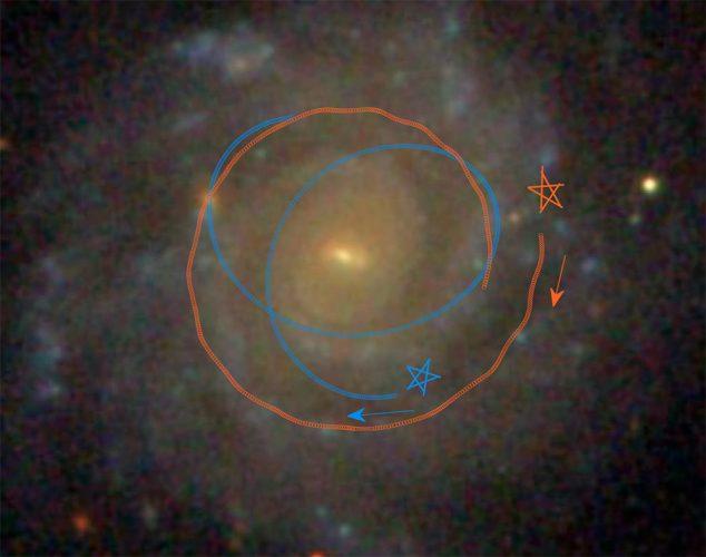 Astronomowie modelując określają, w jaki sposób dyski galaktyczne ewoluują tak gładko