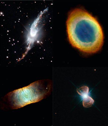 W jaki sposób mgławice planetarne uzyskują swoje kształty