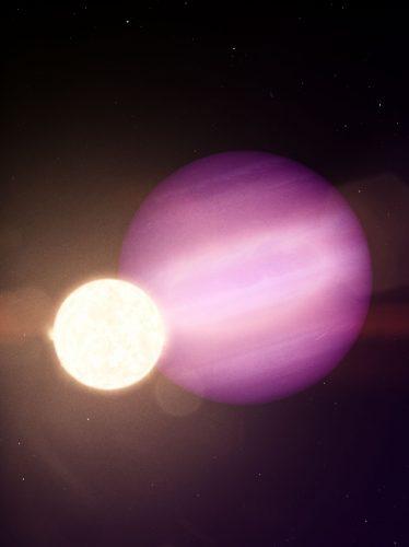 Odkryto pierwszą planetę krążącą wokół białego karła