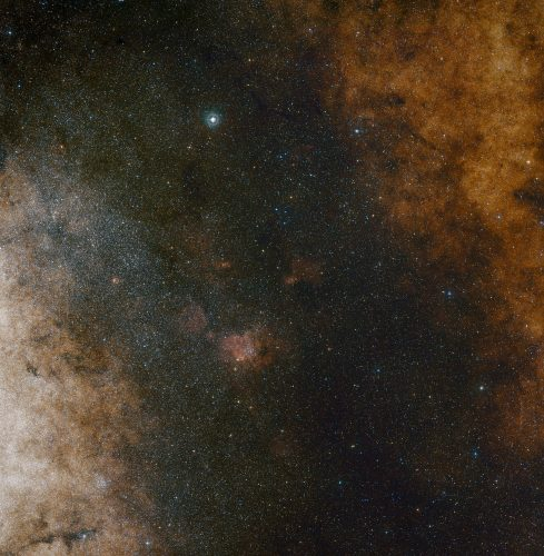 Potwór w środku Drogi Mlecznej... wiruje powoli?