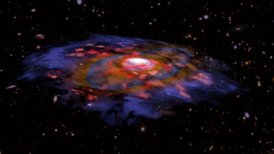 Galaktyki w niemowlęcym Wszechświecie były zaskakująco dojrzałe
