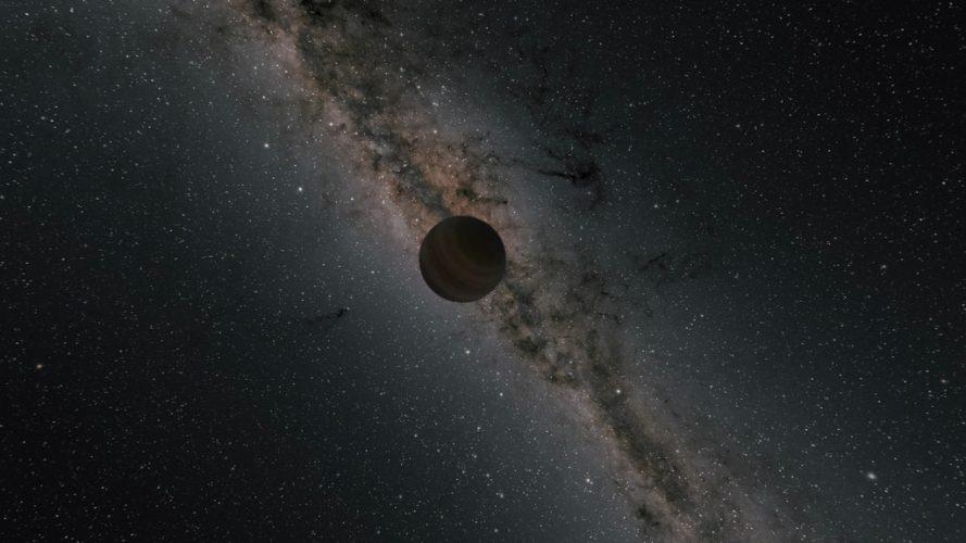 Dzięki mikrosoczewkowaniu  grawitacyjnemu odkryto małą samotną planetę