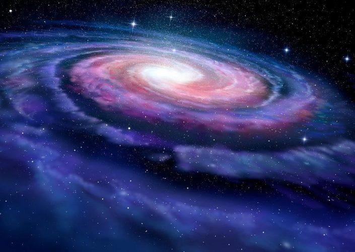 Spotkanie z galaktyką gwałtownie zakłóciło Drogę Mleczną