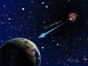 Astronomowie dostrzegają najodleglejszą znaną nam galaktykę