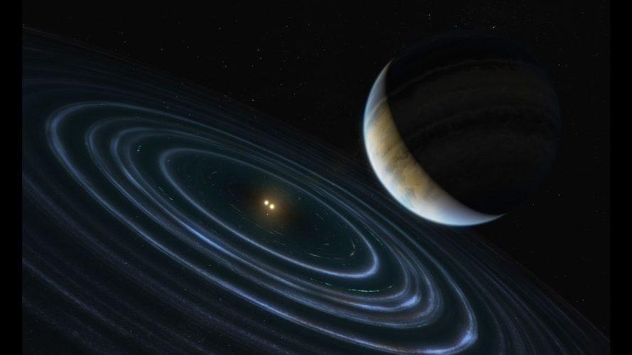 Hubble obserwuje dziwną egzoplanetę na odległej orbicie