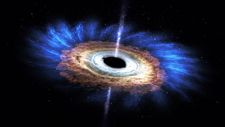 Naukowcy identyfikują miejsca, w których olbrzymie dżety z czarnych dziur rozładowują swoją energię