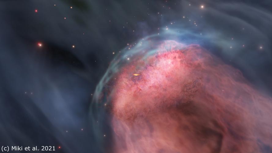Modele sugerują, że zderzenia galaktyk mogą zagłodzić masywne czarne dziury