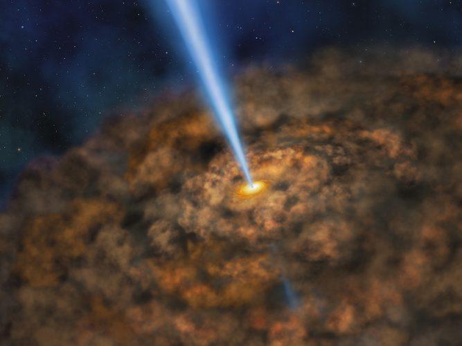 Nowe oszacowanie dotyczące supermasywnych czarnych dziur i Wszechświata