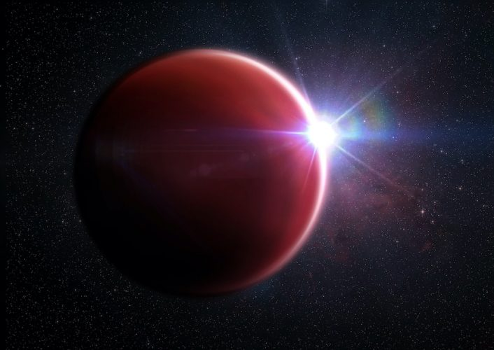 Astronomowie odkrywają pierwszą pozbawioną chmur planetę podobną do Jowisza