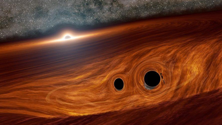 Czy właśnie widzieliśmy dwie łączące się czarne dziury?
