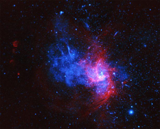 W centrum Drogi Mlecznej odkryto pozostałości rzadkiej eksplozji