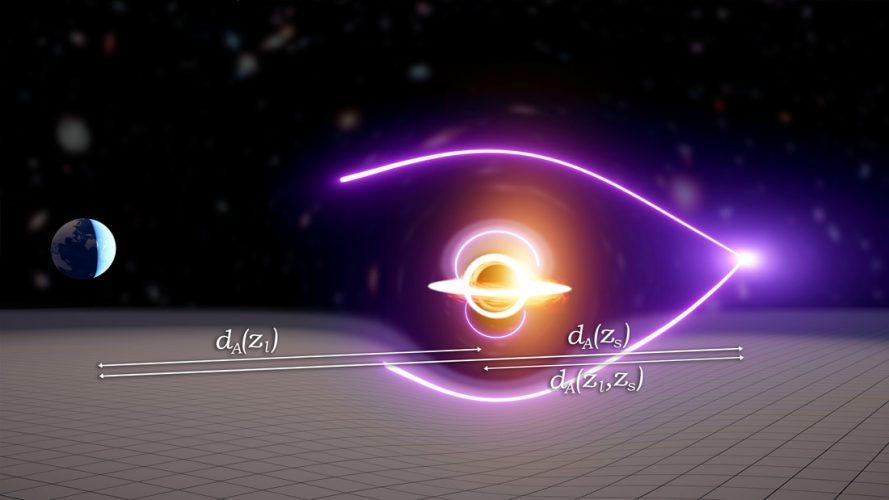 Astronomowie odkrywają rzadką czarną dziurę o masie pośredniej