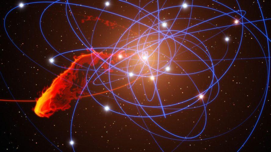 Rozbłyski z supermasywnej czarnej dziury w Drodze Mlecznej