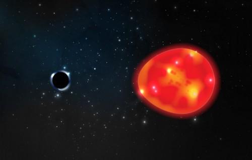Najmniejsza w historii czarna dziura, która jest także najbliżej od Ziemi