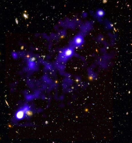 Astronomowie mapują kosmiczną sieć