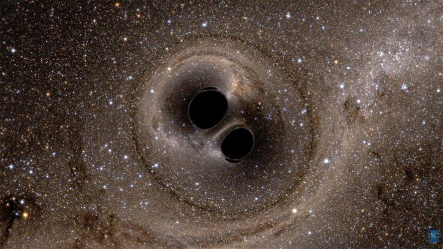 Przeskakiwanie luki masowej w celu zbadania dużych czarnych dziur