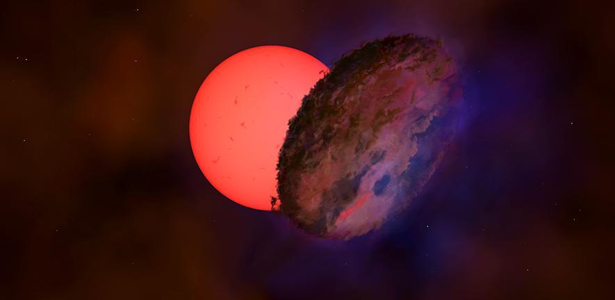 """Odkryto """"mrugającego olbrzyma"""" w pobliżu centrum Galaktyki"""