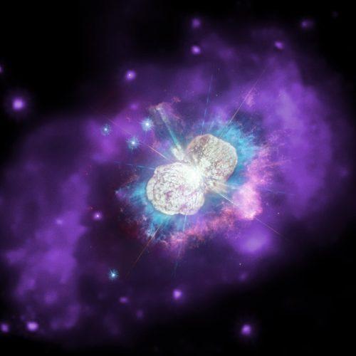 Jasne kosmiczne eksplozje mogą ukazać dziwne międzygwiazdowe węzły