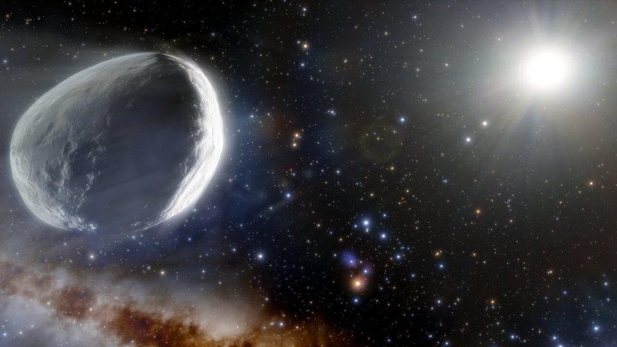 Olbrzymia kometa znaleziona na obrzeżach Układu Słonecznego w przeglądzie Dark Energy Survey
