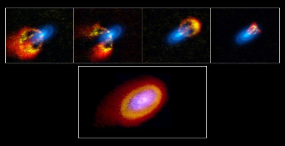 Badanie młodego, chaotycznego układu gwiezdnego odkrywa tajemnice formowania się planet