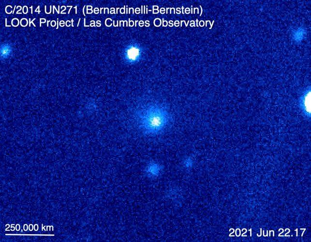 Odkryto aktywność w największej komecie, jaką kiedykolwiek znaleziono
