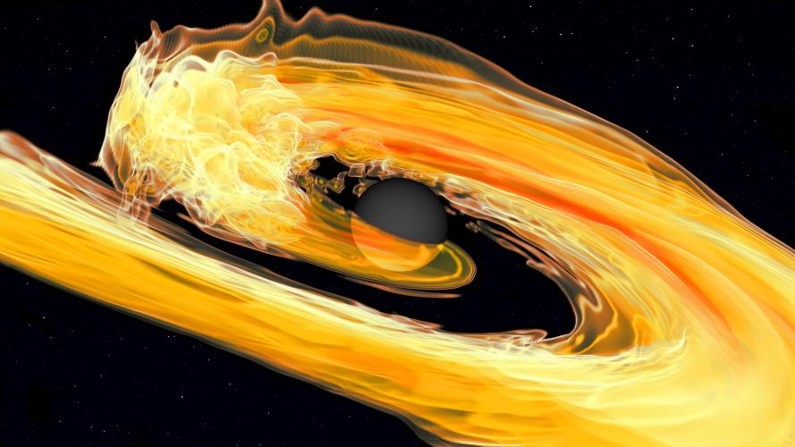 Detektory fal grawitacyjnych dostrzegają gwiazdy neutronowe zderzające się z czarnymi dziurami