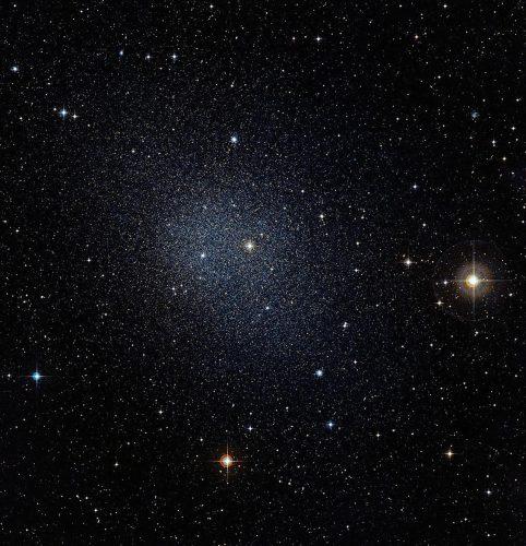 Stwierdzono rotację wewnętrzną satelitarnych karłowatych galaktyk sferoidalnych