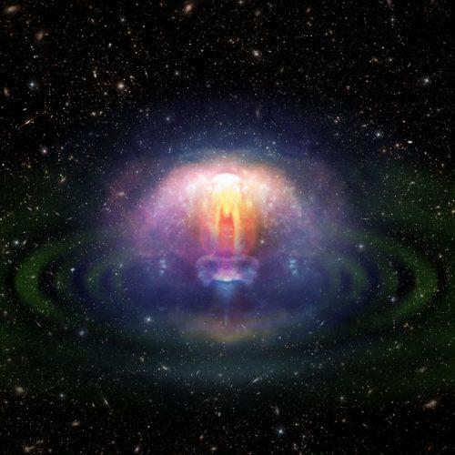Wybuchy supernowych w dyskach akrecyjnych aktywnych galaktyk