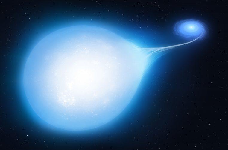 Para podkarzeł-biały karzeł, w której dojdzie do wybuchu supernowej typu Ia