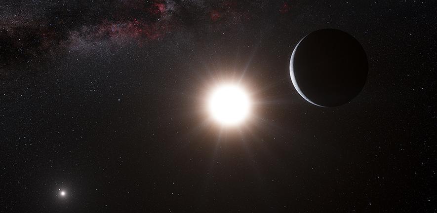 Astronomowie pokazują, jak planety powstają w układach podwójnych nie ulegając zniszczeniu