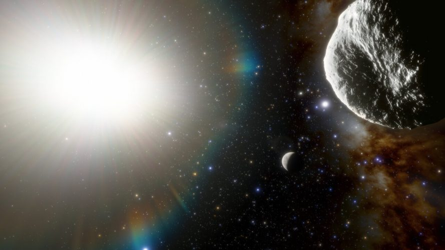Odkryto najszybciej orbitującą planetoidę