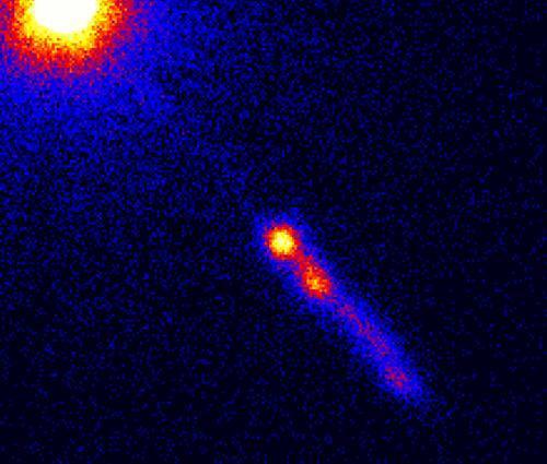 Kwazary jako kosmiczne świece standardowe