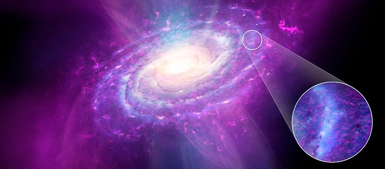 Niespodzianka: Droga Mleczna nie jest jednorodna