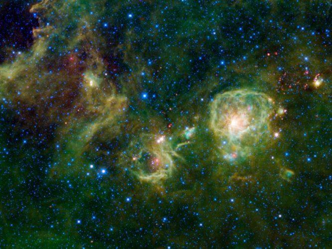 Śledzenie gazu w odległych galaktykach