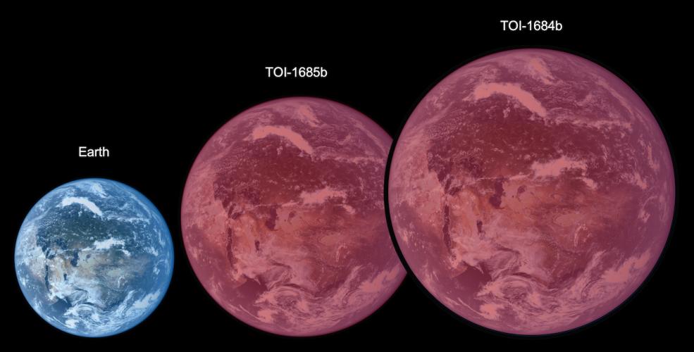 Nieosłonięte superziemie oferują wskazówki dotyczące ewolucji gorących atmosfer